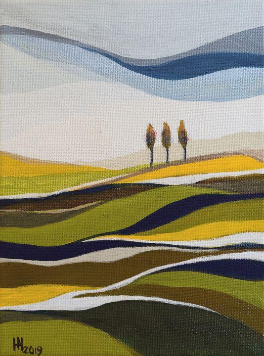Summer rhapsody - Aniko Hencz art