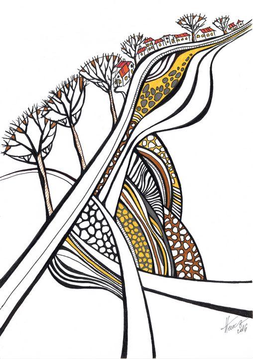 Intersections - Aniko Hencz art