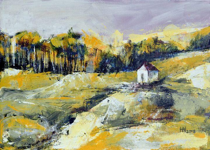 Autumn ambiance - Aniko Hencz art