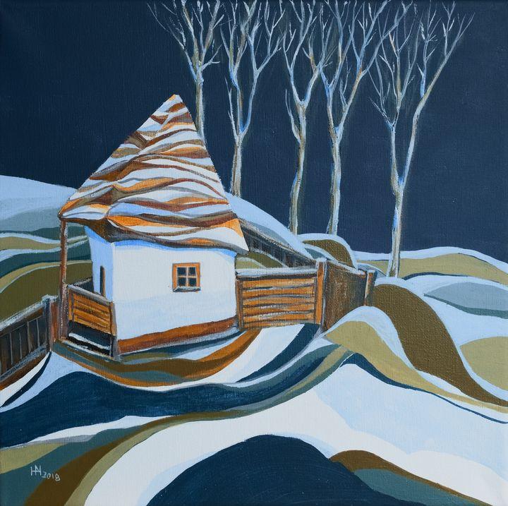 First snow - Aniko Hencz art