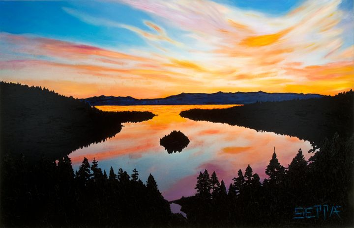 Emerald Bay Sunrise - Brian Seppa