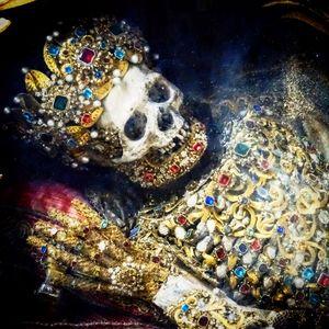 Bejeweled Skeleton