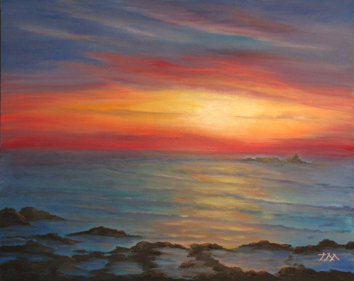Sunset Tranquility - Jev Maks
