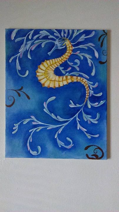 Dragon Seahorse - Judy Fields
