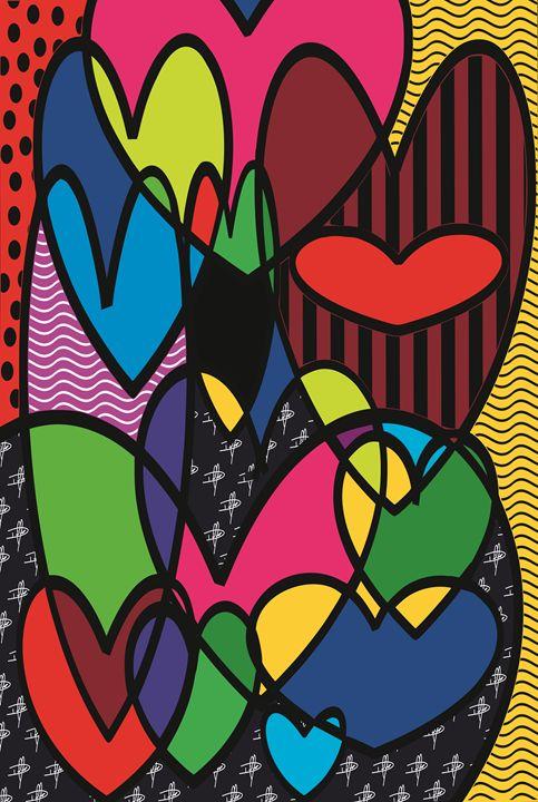 Hearts - Smart Art