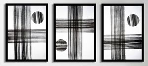Triptych Untitled No. 83