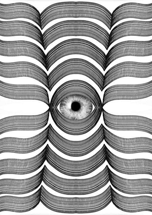 Look into my eye - Art By Sumit Mehndiratta