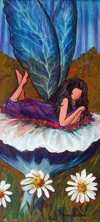 Fairy life - Tami Booher Appalachian Nature Painter