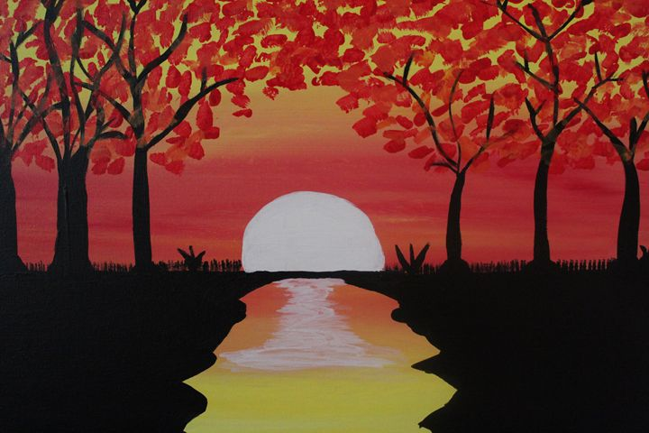 Fall Sunrise - Kayla Franklin