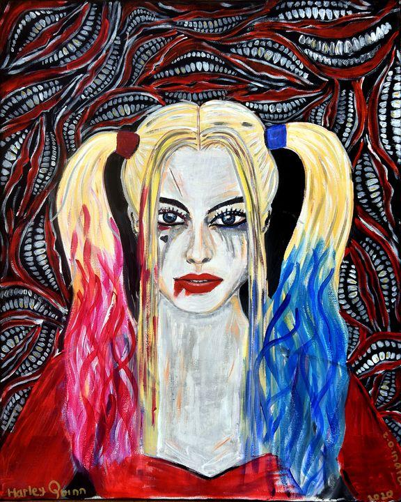 Harley Quinn - Zhymas Art