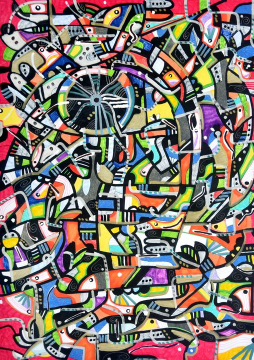Brainstorm - Zhymas Art