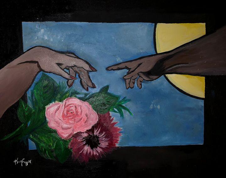 The Creation of the Black Woman - Ks.Kanvas