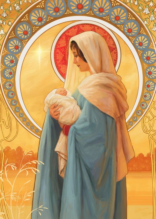 Madonna and Child - Daniel Rodgers