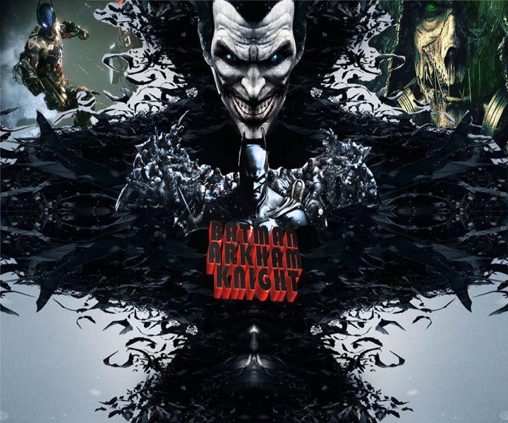 3D batman Arkham knight - BJVLEAVITT