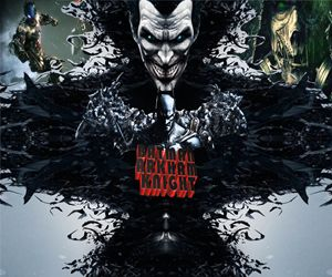 3D batman Arkham knight