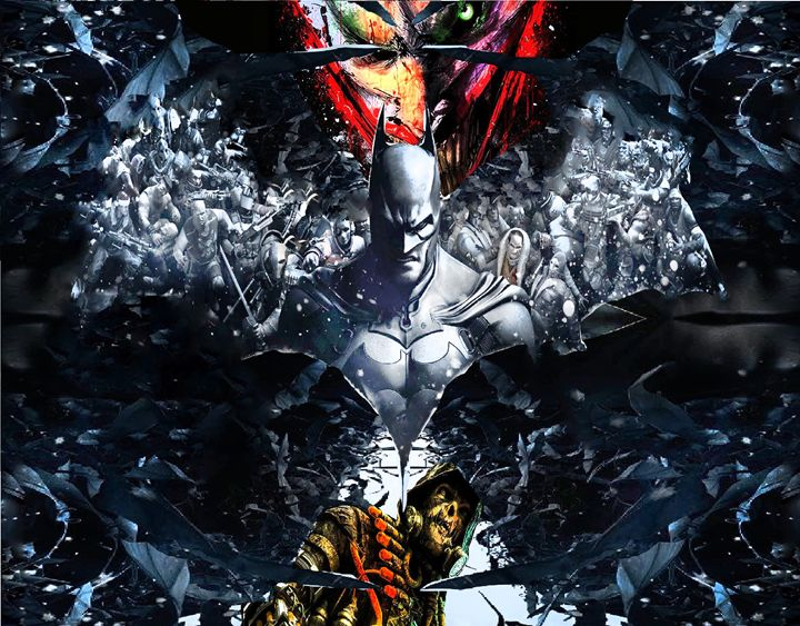 batman Arkham knight - BJVLEAVITT