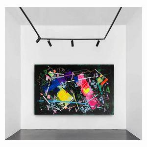 Disco - Huge abstract painting xxl - Maria Esmar