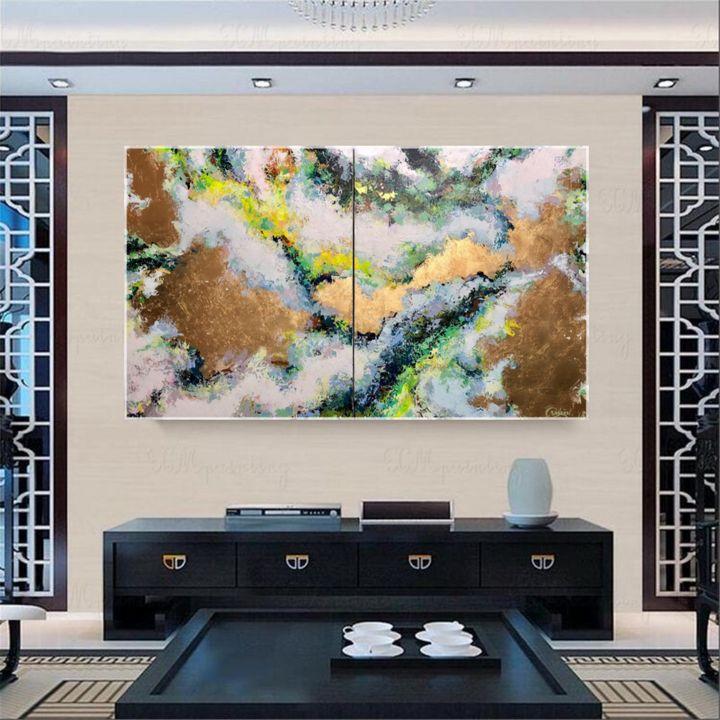 Allure - Original abstract painting - Maria Esmar