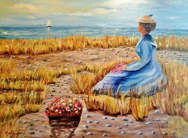A day without you - Vivi Karakatsani Art