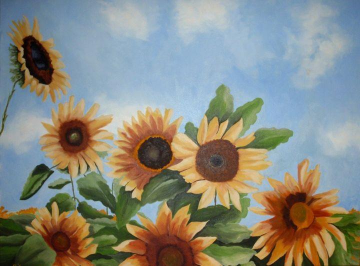 Flirt under the sun - Vivi Karakatsani Art