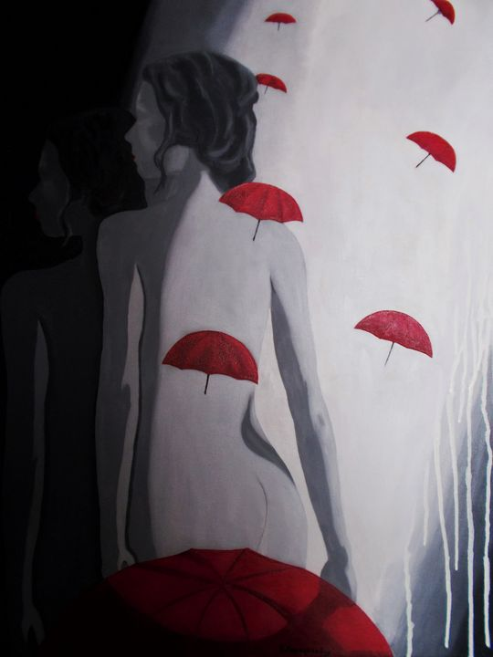 In the company of my shadow - Vivi Karakatsani Art