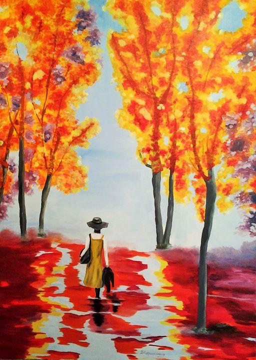 Escape from reality - Vivi Karakatsani Art