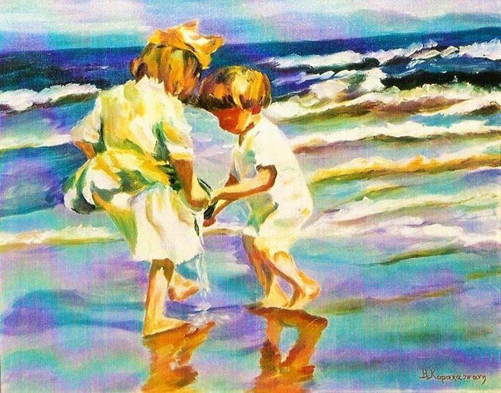 Children - Vivi Karakatsani Art