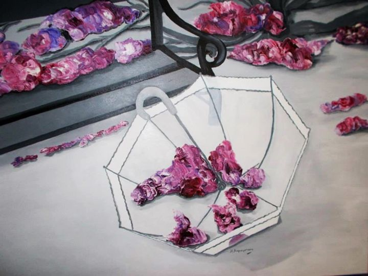 Floral Shelter - Vivi Karakatsani Art