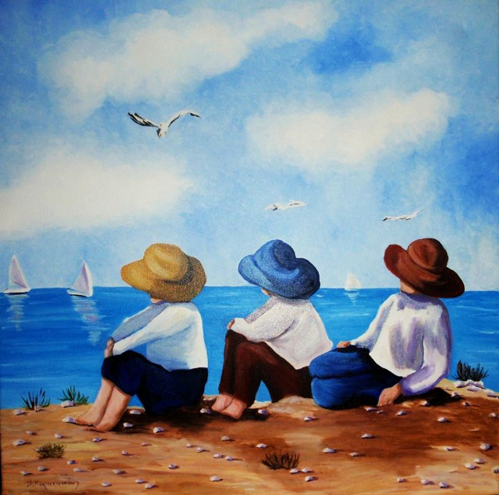 Daydreaming - Vivi Karakatsani Art