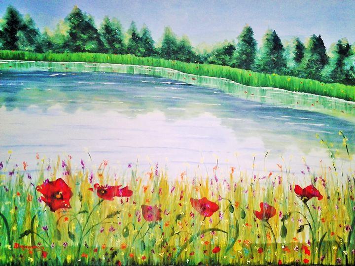 Spring - Vivi Karakatsani Art