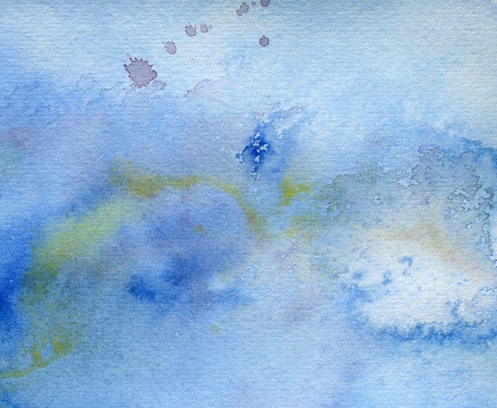 Soft Blue - Christina Rahm Art