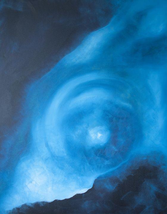 Tunnel light - Christina Rahm Art