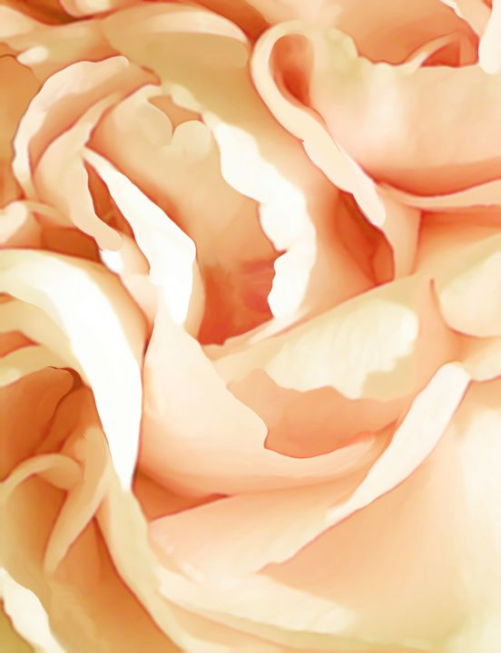 Orange flower - Christina Rahm Art