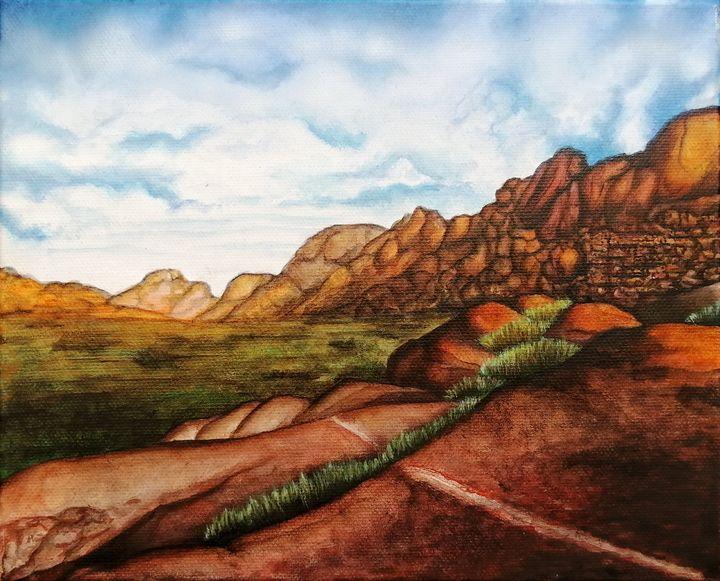 South African Landscape 1 - Sarah van Appel