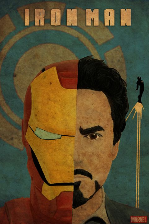 Ironman movie poster - Rateau Gallery