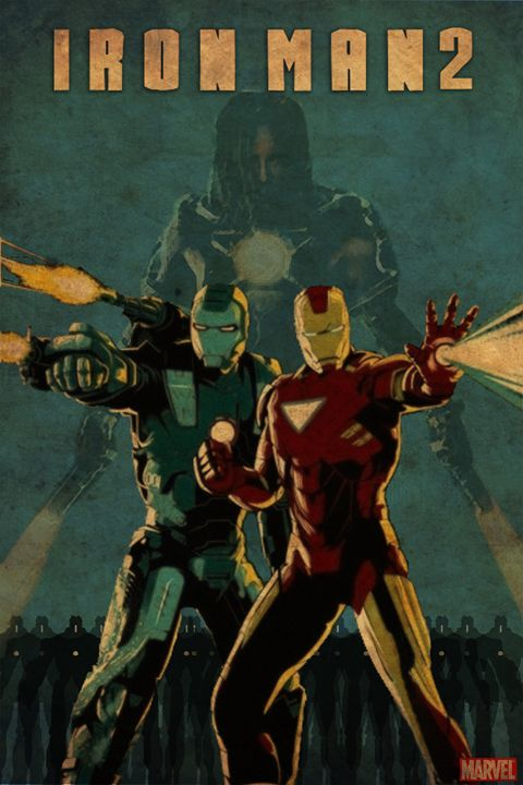 Ironman 2 movie poster - Rateau Gallery