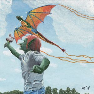 Goblin Flying Dragon Kite