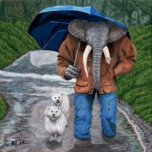 Elephant Man Walking Dogs
