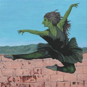 Goblin Girl Dancing Ballerina