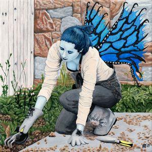 Dark Fairy Gardener