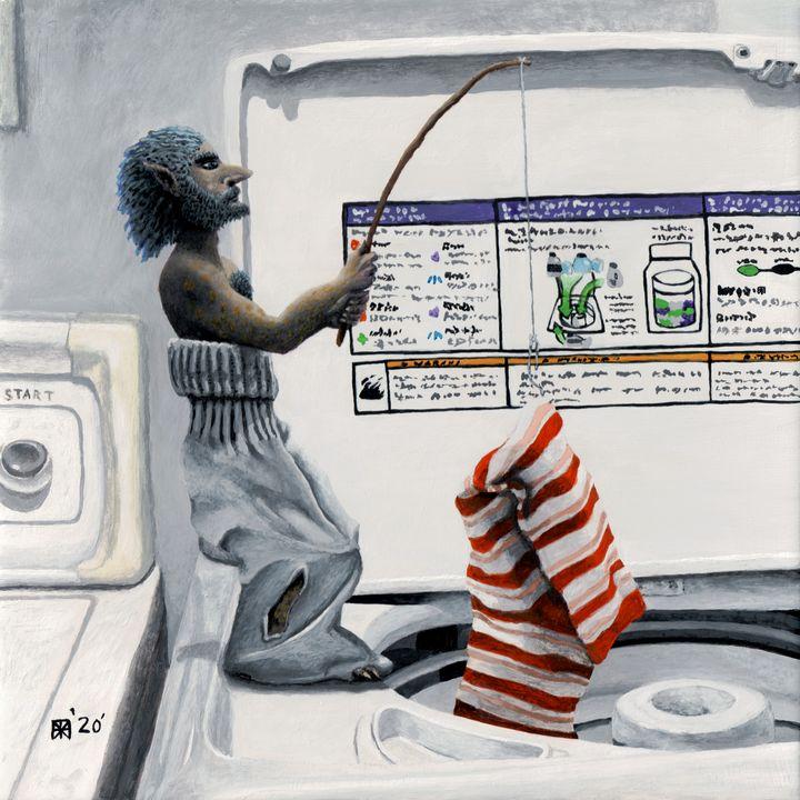 Sock Criminal Fishing Crime - Helms Art Creations