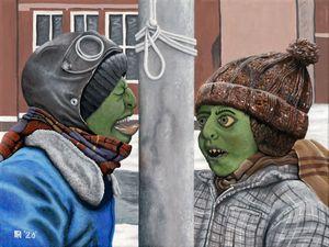 Boggart Christmas Story Fantasy