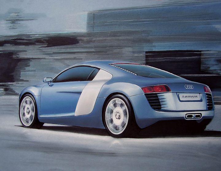 2008 Audi R8 LeMans Concept - Paul Kuras