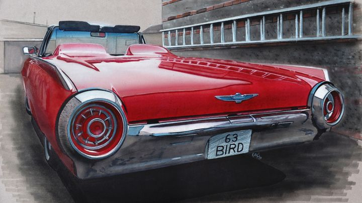 1963 Ford Thunderbird - Paul Kuras