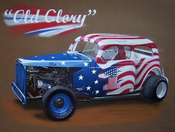1937 Ford Race tudor - Paul Kuras