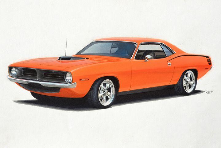 1970 Plymouth Cuda - Paul Kuras