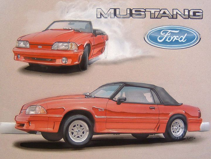 1993 Ford Mustang Convertible - Paul Kuras