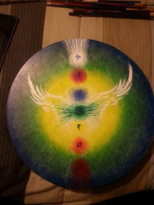 Flying Chakras - Phoenix Rising