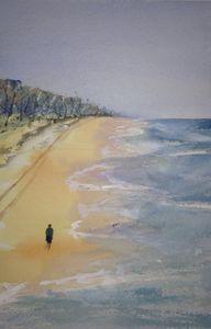 A Walk on the Beach near Bundaberg