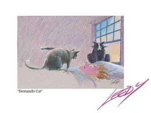 """Demando Cat"" - Art That Makes You Laugh"